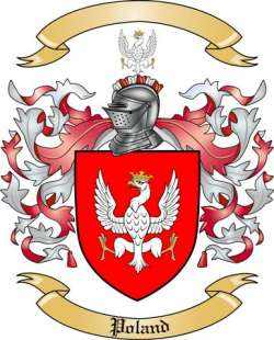 Poland Family Crest From Poland By The Tree Maker