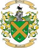 Pollock Family Crest from Scotland