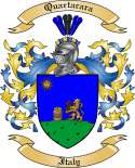 Quartarara Family Coat of Arms from Italy