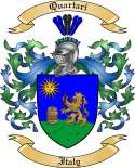 Quartari Family Crest from Italy