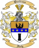 Quatrano Family Coat of Arms from Italy
