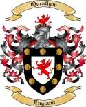 Queathem Family Crest from England2