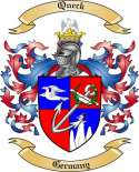 Queck Family Crest from Germany