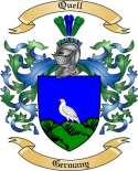 Quell Family Crest from Germany2