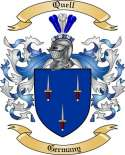 Quell Family Crest from Germany