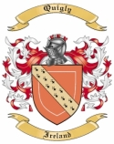 Quigly Family Crest from Ireland