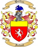 Quillan Family Coat of Arms from Ireland