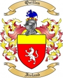 Quillen Family Coat of Arms from Ireland