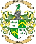 Quilliams Family Coat of Arms from Wales2