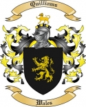 Quilliams Family Coat of Arms from Wales