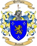 Quilligan Family Coat of Arms from Ireland