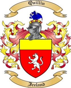 Quillin Family Crest from Ireland