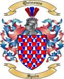 Quinones Family Coat of Arms from Spain