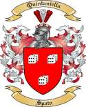 Quintaniella Family Coat of Arms from Spain