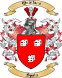 Quintano Family Coat of Arms from Spain