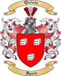 Quinto Family Crest from Spain