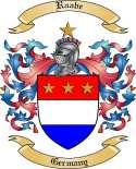 Raabe Family Crest from Germany