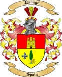 Rabago Family Coat of Arms from Spain