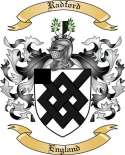 Radford Family Crest from England