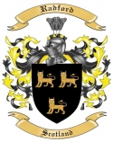 Radford Family Crest from Scotland