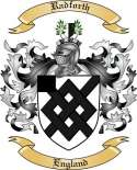 Radforth Family Crest from England