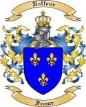 Raffoux Family Crest from France
