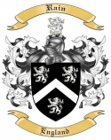 Rain Family Crest from England