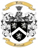 Rain Family Crest from Scotland