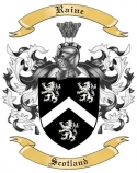 Raine Family Coat of Arms from Scotland