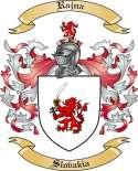 Rajna Family Crest from Slovakia