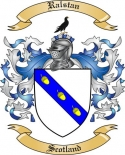 Ralstan Family Crest from Scotland
