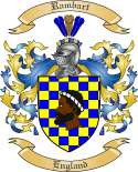 Rambart Family Coat of Arms from England