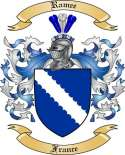 Ramee Family Coat of Arms from France2
