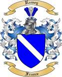 Ramey Family Coat of Arms from France