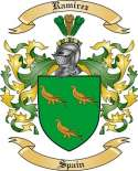 Ramirez Family Crest from Spain