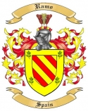 Ramo Family Crest from Spain