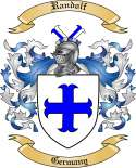 Randolf Family Crest from Germany