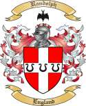 Randolph Family Crest from England