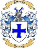 Randolph Family Crest from Germany