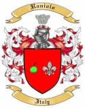 Raniolo Family Coat of Arms from Italy