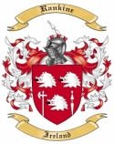Rankine Family Crest from Ireland