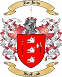 Rankins Family Crest from Scotland
