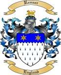 Ranner Family Coat of Arms from England