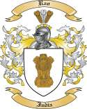 Rao Family Coat of Arms from India