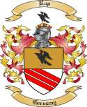 Rap Family Coat of Arms from Germany