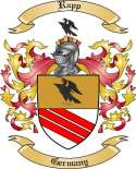 Rapp Family Coat of Arms from Germany