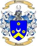 Rasmus Family Crest from Denmark
