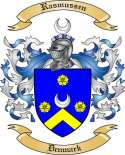 Rasmussen Family Crest from Denmark