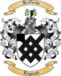 Ratforde Family Crest from England