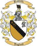 Rattliffe Family Crest from England